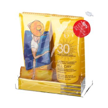 Louis Widmer All Day SPF30 Légèrement Parfumé DUO 2x100 ml