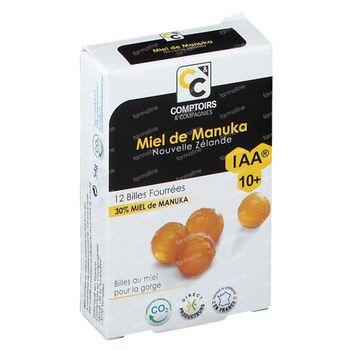 Comptoirs & Compagnies Gevulde Zuigtabletten Manuka Honing IAA 10+ 12 stuks