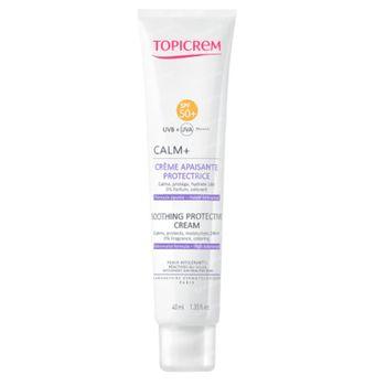 Topicrem Calm+ Beschermende Kalmerende Crème SPF50+ 40 ml