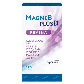 MagneB PlusD Femina 120 tabletten