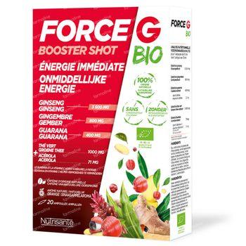 Nutrisanté Force G Bio Booster Shot 20 ampoules