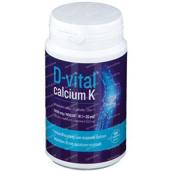 D-Vital Calcium K 180 capsules