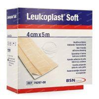 Leukoplast Soft White Pleister 4cmx5m 1 stuk