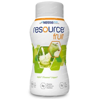 Resource Fruits Pomme 4x200 ml