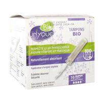 Unyque Tampon met Applicator Super Bio 16 stuks