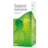Toularynx Guaifenesine Slijmhoest 180 ml siroop