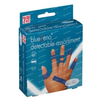 Bluezeno Detectable Pleisters Assortiment 40 pièces