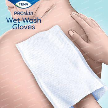 TENA ProSkin Wet Wash Gloves Parfum Doux 8 pièces