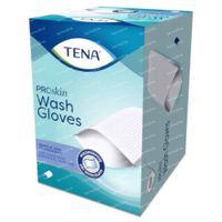 TENA ProSkin Wash Glove Gants de Toilette 50 pièces