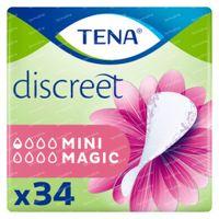 TENA Discreet Mini Magic 34 pièces