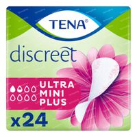 TENA Discreet Ultra Mini Plus 24 stuks