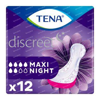 TENA Discreet Maxi Night 12 pièces