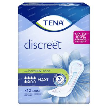 TENA Discreet Maxi 12 stuks