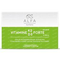 Alfa Vitamine K2 - D3 Forte 60  softgels