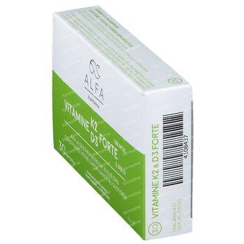 Alfa Vitamine K2 - D3 Forte 30 gélules souples