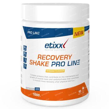 Etixx Recovery Shake Pro Line Banane 1000 g