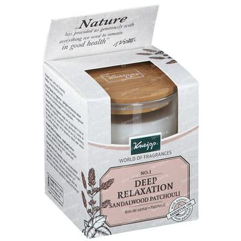 Kneipp Bougie Parfumé Sandalwood-Patchouli 145 g