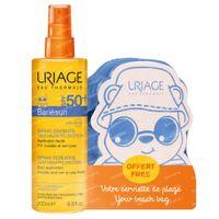 Uriage Bariésun Kids Spray SPF50+ + Strandhanddoek GRATIS 1  set