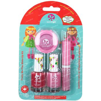 SuncoatGirl Gift Set Pretty Me Play Make-Up Kit Angel 1 set