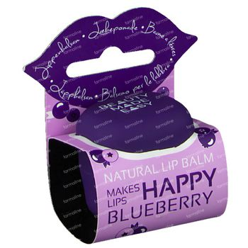 Beauty Made Easy Baume à Lèvres Blueberry 6,8 g