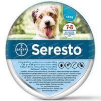 Seresto Halsband 1.25g + 0.56 g Hond tot 8kg 1 stuk