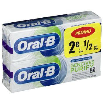 Oral B Purify Tandpasta Verlaagde Prijs 2x75 ml