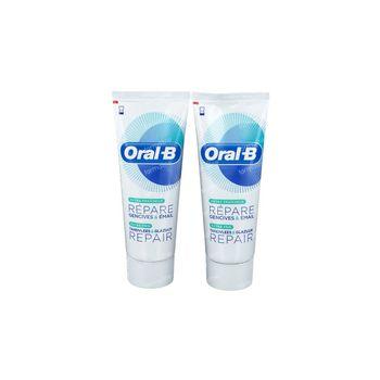 Oral B Repair Extra Fraîcheur Dentifrice Prix Réduit 2x75 ml