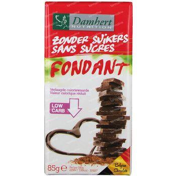 Damhert Chocolade Puur Suikervrij 85 g