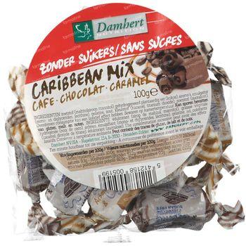 Damhert Carribean Mix Bonbons Sans Sucres 100 g