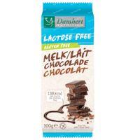 Damhert Lactose Free Chocolat Lait Gluten Free 100 g