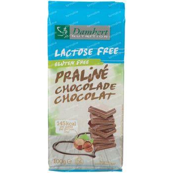Damhert Lactose Free Chocoladetablet Praliné Gluten Free 100 g