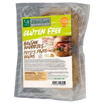 Damhert Gluten Free Petits Pains Bruns 120 g