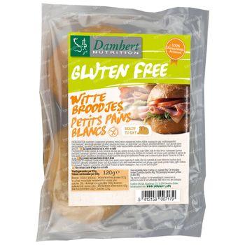 Damhert Gluten Free Petits Pains Blancs 120 g