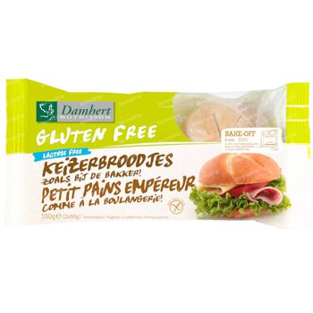 Damhert Gluten Free Keizerbroodje Lactose Free 180 g
