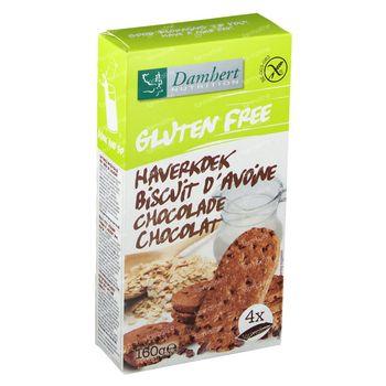 Damhert Gluten Free Cookies d'Avoine Chocolat 160 g