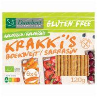 Damhert Boekweit Krakki's Glutenvrij 100 g