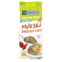 Damhert Fruitmuesli Bio Glutenvrij 200 g