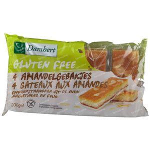 Damhert Gateaux aux Amandes Sans Gluten 200 g