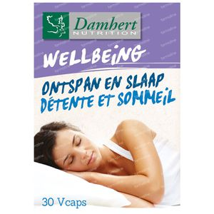 Damhert Wellbeing Détente et Sommeil 30 capsules