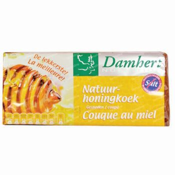 Damhert Traditional Natuurhoningkoek Zonder Zout 500 g
