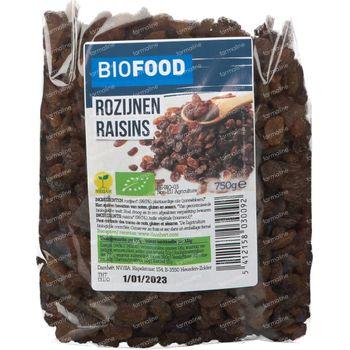 Biofood Rozijnen Bio 750 g
