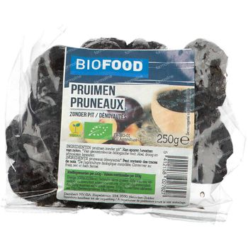 Biofood Pruimen Zonder Pit Bio 250 g