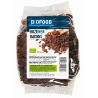Biofood Biologisiche Rozijnen 500 g