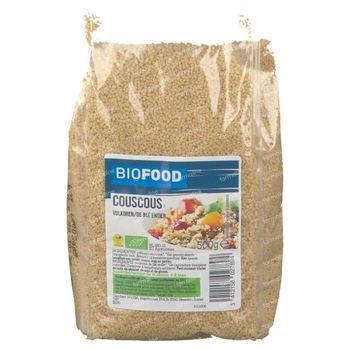 Biofood Couscous de Blé Entier Bio 500 g