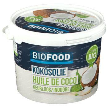 Biofood Kokosolie Gebleekt Bio 2 kg