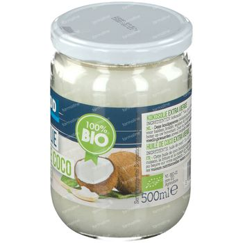 Biofood Huile de Coco Extra Vierge Bio 500 g