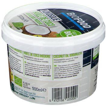 Biofood Biologische Kokosolie Gebleekt 500 ml