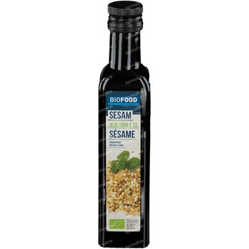 Biofood Huile de Sésame Pressée à Froid Bio 250 ml