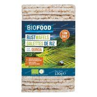 Biofood Biologische Rijstwafels met Quinoa 130 g