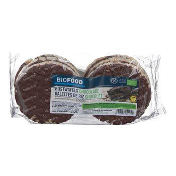 Biofood Biologische Rijstwafels met Chocolade 100 g